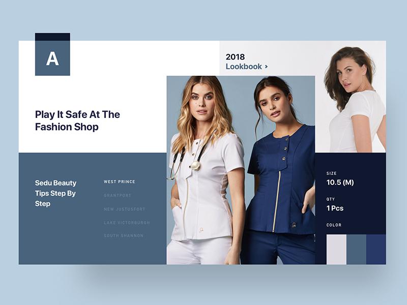 Conceptual Web UI Exploration doctor medical ux ui modern custom grid concept fashion minimal fluent layout