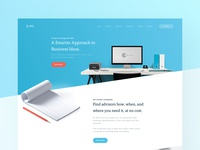 Lora Landing Page - Full preview