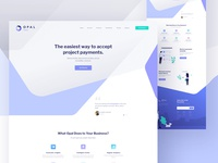 Opal Landing Page - Full preview