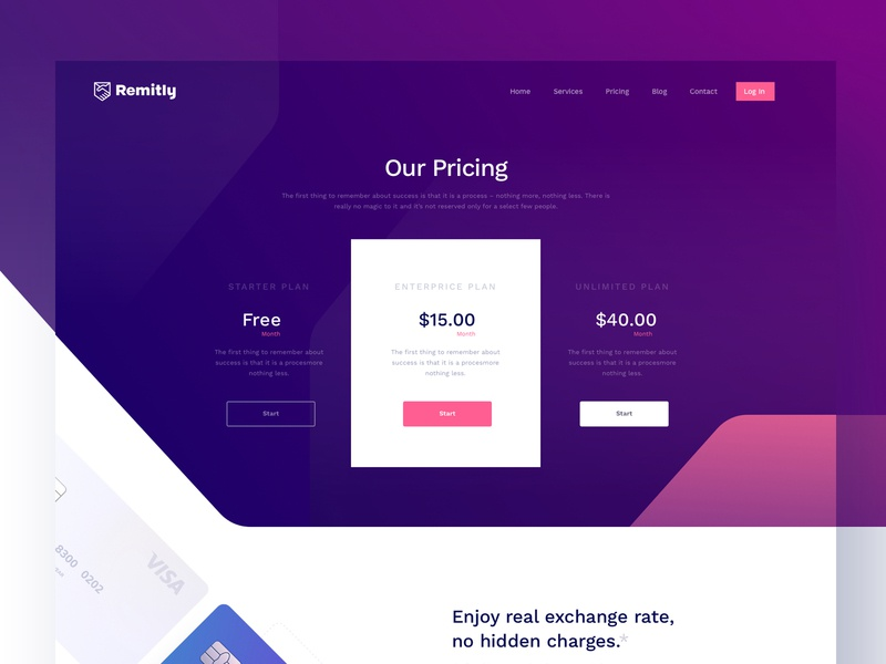 Remitly Inner Page - Full preview user flow journey remittance currency transection credit debit card product landing page dashboard desktop financial gradient icon illustration landing page isometric website ui ux design creative minimal colorful photography google apple microsoft unopie design agency