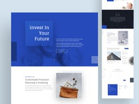 Investment Firm Landing | Divi Layout