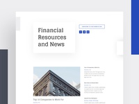Investment Firm - Blog | Divi Layout