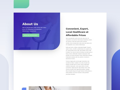 Health Clinic Layout - About   Divi landing page website minimal creative layout web theme design theme wordpress doctor who health clinic hospital healtcare medicine medical emergency treatment