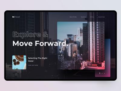 Travel Web Design | Explore