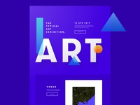 Art event Page - Sneak peak