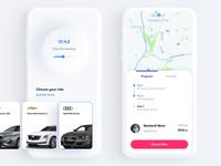 Premium Ride - Mobile Application UI