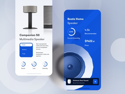 Product Shop Article UI