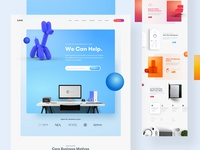 Lora True Iteration - Landing Page