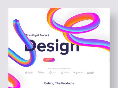 Creative Design Agency Website