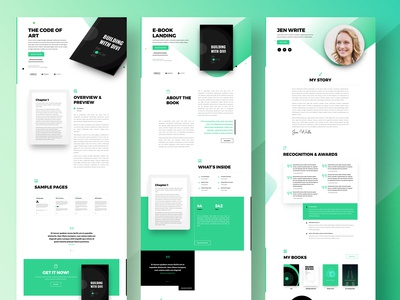 Ebook Shop | Divi Layout