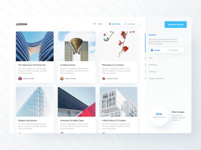 Dashboard UI | Concept