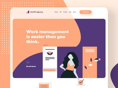 Work Management - Agency Landing Page