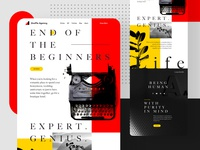 Creative Design - landing page