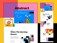 Experimental Web Illustration