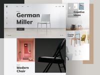 Furniture - Interior Decor Shop Website