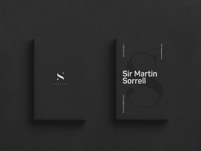 S4 Capital Branding/Logo Design clean logo typography dark branding