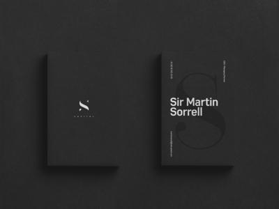 S4 Capital Branding/Logo Design clean logo typography dark branding