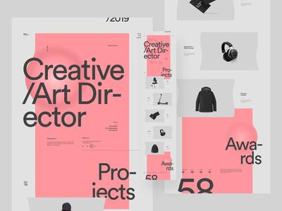 Design Embraced 2019 clean design web design typography minimal clean