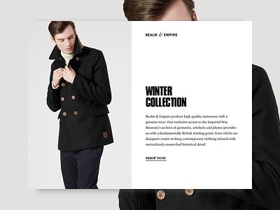 Type Pairing fashion typography design ui