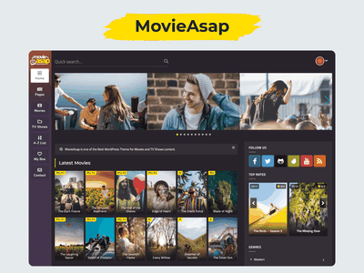 MovieAsap | WordPress Theme for Movies & TV Shows stream movies full movies online movies responsive modern mobile colorful movie websites movie streaming sites streaming website free movies wordpress video theme video wordpress video theme film review movie review movie wordpress theme wordpress themes