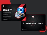 Presentation Deck - Main Screens dark keynote deck presentation