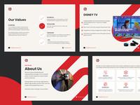 Presentation Deck - Content Screens powerpoint presentation keynote deck