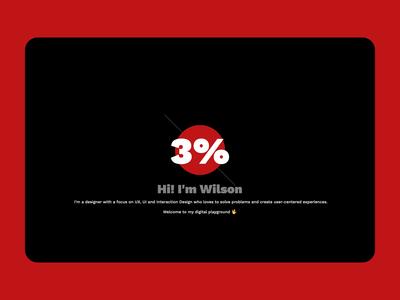 Intro Animation Concept 🤡 portfolio principle countdown website intro animation