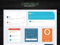 Communidad ui kit   preview