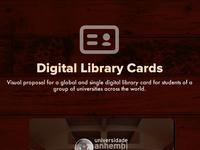 Libray cards