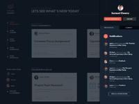 Sidebar notifications