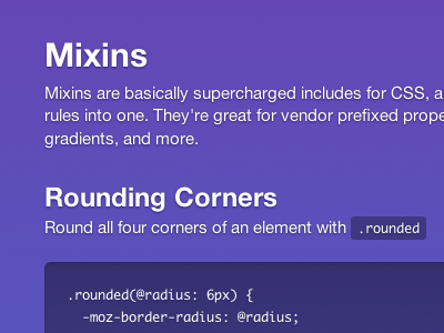Bootstrap css purple helvetica neue style inset shadows gradient text-shadow