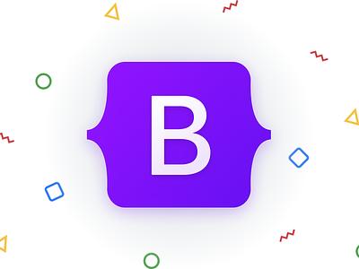 Bootstrap 5 logo open source js css logo bootstrap