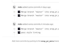 GitHub timeline tweak