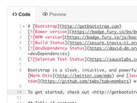 Updated GitHub web editor