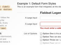 Default Form Styles