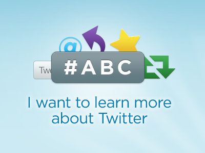 #ABC twitter blue slate gray purple yellow green gotham