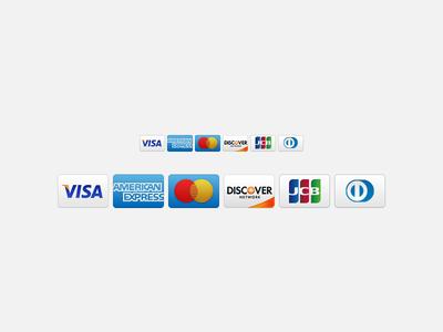 New GitHub credit card icons
