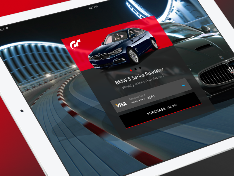 Daily UI #002 - Credit Card Page racing cars car checkout credit card figma ux ui daily ui gran turismo