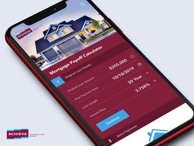 Mortgage Early Payoff Calculator calculator mortgage calculator daily-ui-challenge daily-ui