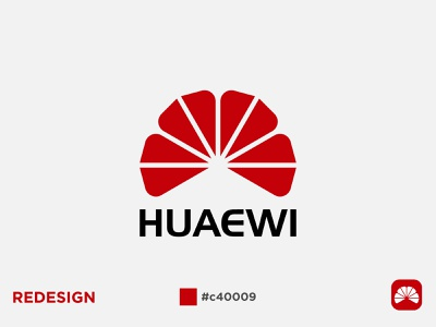 HUAWEI LOGO REDESIGN it logo best logo redesign huawei icon design vector logo design identity modern colorful creative logo branding