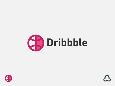 Dribbble Logo Redesign basketball lettermark typeface lettering icon symbol dribbble modern app icon design ui illustration design vector colorful identity logo design logo creative branding