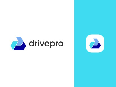 Drive logo and P letter logo colorful icon trend corporate agency tech agency letter logo p logo mark online shop ecommerce graphic design design logo app icon design vector identity logo design creative branding
