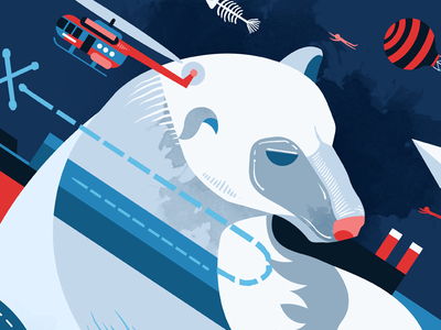 Going To North Pole - Bear