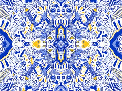 Cool Wind Summer Time. fashion illustration wind blue pattern summer