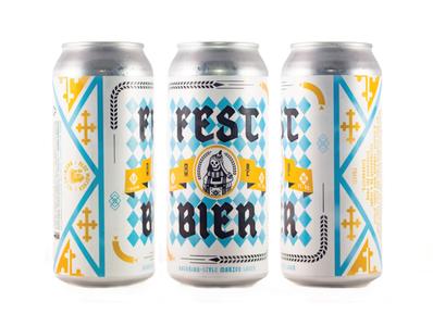 Fest Bier Can Label