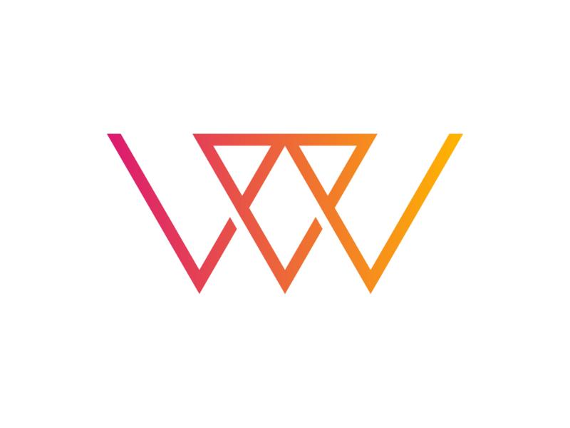 Logo update personal logo personal brand design orange illustrator logo design branding logo illustration
