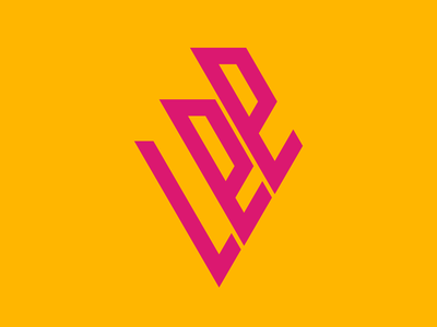 Personal logo pink logo pink magenta yellow vector personal logo logo design illustrator branding logo illustration