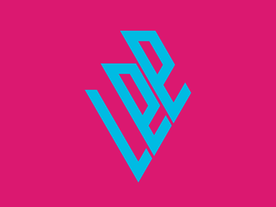 Personal logo cyan logo cyan magenta vector personal logo blue illustrator logo design branding logo illustration