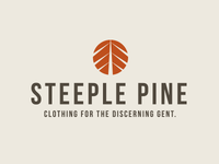 Steeple Pine logo design