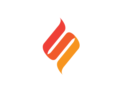Flame logo logo illustration flame red branding orange fire